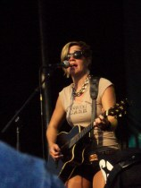 Alysia Kraft of The Patti Fiasco at the 25th Annual New West Fest
